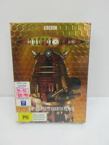 Doctor Who : Series 4 (DVD, 2008, 6-Disc Set) R4 PAL Brand New Sealed