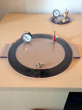 "Vacuum Chamber Lid 11"" Diameter Polycarbonate by (bienzumbado)degassing silicone"
