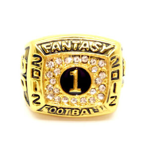 2012 Fantasy Football Championship rings NFL