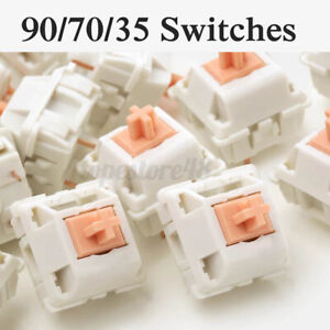 Mechanical Keyboard Tactile Pink Jade Switch FEKER Like Holy Panda For Cherry MX