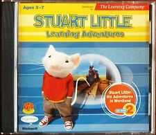 PC CD ROM STUART LITTLE LEARNING ADVENTURES 2. AGES 3-7. UK DISPATCH
