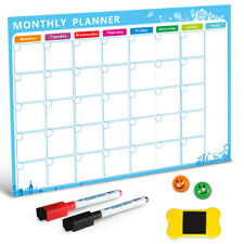 1Pc Magnetic Whiteboard Board Dry Erase Refrigerator To-Do List Monthly Planner