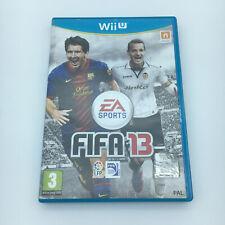 JUEGO NINTENDO WII U - FIFA 13 - COMPLETO PAL ESPAÑA con Manual wiiu FIFA 2013