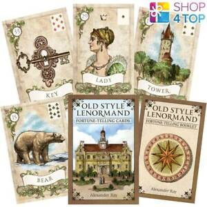 OLD STYLE LENORMAND FORTUNE-TELLING KARTEN DECK US GAMES SYSTEMS ALEXANDER RAY