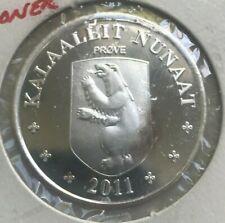 2011 Greenland 100 Kroner - Silver Proof - Golf Championship
