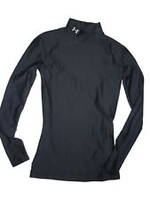 Under Armour women's Cold Gear Compression Mock baselayer Shirt size XS