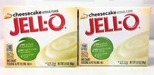 Jello Cheesecake Instant Pudding & Pie FIlling 3.4 oz ( 2 Boxes )