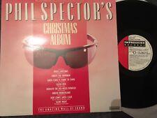 PHIL SPECTOR'S CHRISTMAS ALBUM VINYLrecord  Ronettes Crystals Darlene Love