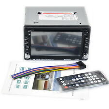 6.5 inches Car DVD CD Player Double Din Stereo Radio Bluetooth Phone Mirror Link