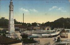 White City Savin Rock Ct Amusement Park c1910 Postcard