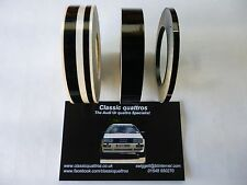 AUDI UR QUATTRO TURBO COUPE BLACK PIN STRIPING KIT