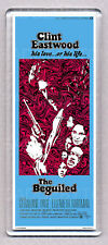 THE BEGUILED movie poster LARGE 'WIDE' FRIDGE MAGNET - CLINT EASTWOOD 1970's