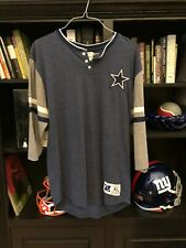 New With Tags Mitchell & Ness Dallas Cowboys Half Sleeve Shirt Size XL