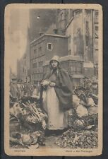 More details for germany 1916 aachen market postcard rare used j7513