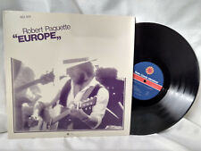 Robert Paquette LP Europe Radio Canada international French Canadian Folk NM-
