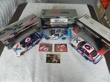 NASCAR 1/24 die cast MARK MARTIN 3-car collection, LN condition