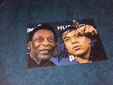 Kylian Mbappé M Bappe Pele Photo Dedicace Autograph Football France Champions