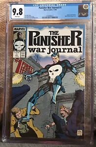 Punisher War Journal #1.  CGC Graded 9.8.  (Marvel Comics, 11/88).
