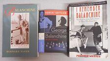 Balanchine - A Biography 3 book lot Ballet Maker Recollections
