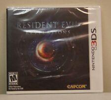 """New! Resident Evil: Revelations [Misprint """"Revelaitons""""] (Nintendo 3DS, 2012)"""