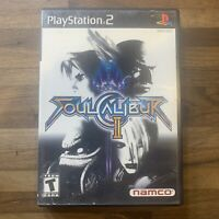 Playstation 2 - Soul Calibur II - Tested and Working!