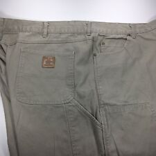 Bear River Workwear Mens 46x30 Canvas Cotton Carpenter Work Pants Dungarees