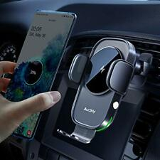 Wireless Car Charger,[Electromagnetic Sense],Qi 15W Fast in Car Wireless