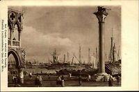 """Künstlerkarte Kunstverlag Wolfrum ~1910 Maler CANALE """"Ansicht von Venedig"""" Italy"""
