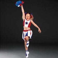 Polyester Cheerleader Fancy Dresses for Girls