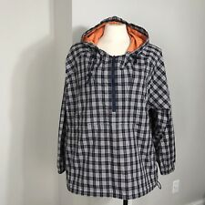 Women's ACTRA Plaid Size XL Pullover Jacket