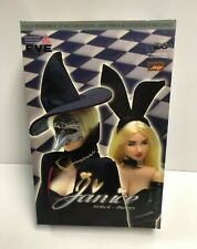 """ZC GIRL ZC SEXY Janice Witch Bunny poseable 12"""" action figure with accessories"""
