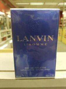 LANVIN L'HOMME BY LANVIN FOR Men 3.4 oz /100 ml Eau De Toilette Spray NEW in box
