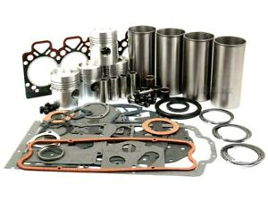 ENGINE OVERHAUL KIT FOR MASSEY FERGUSON 590 690 TRACTORS. (A4.248 FLAME RING).