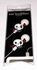 Punk Skull Earphone Charm - Earbud Cord Charm - Ear Buddies New in package