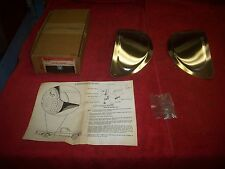 1973 - 87 Chevy GMC Truck NOS Accessory Stainless Steel Stone Guards 2234849