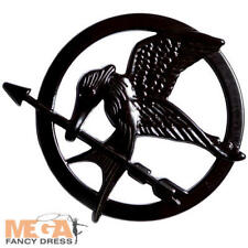 Hunger Games Mockingjay Pin Fancy Dress Badge Katniss Book Day Costume Accessory