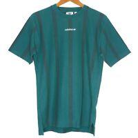 adidas Originals EQT Tennis Stripe Mens T-Shirt Size Small Green