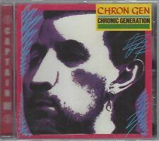 CRON GEN - CHRONIC Generation - (Still Sellado Cd) - Ahoy CD 268