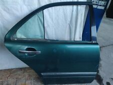 1997 Mercedes-Benz E320 Rear Passenger Door Shell 2107301905; NIQ -Dings See Pix