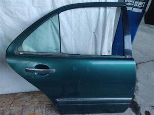 1997 Mercedes-Benz E320 Rear Passenger Door Shell 2107301905; NIQ -Dings See Pix