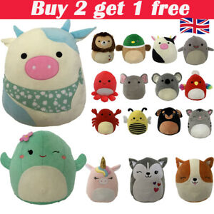 Squishmallows 7-Inch Plush *Choose Your Favourite UK! Gift