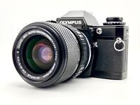 [Near Mint] OLYMPUS OM10 Black w/ Zuiko Auto-Zoom 35-70mm F4 Lens from JAPAN