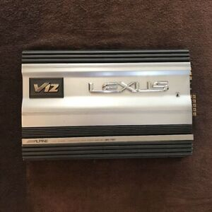 Alpine amplifier V12 MRV-F357 5Ch amplifier used, removed from actual use