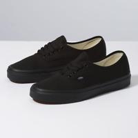 New Men & Women Vans New Authentic All Black Era Classic Sneakers Canvas Shoes