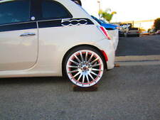 ENZO WHEELS, FIAT 500, POP, SPORT, LOUNGE, ABARTH, TURBO17X7.5, WHITE 4X98