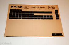 Microfich Spare Parts Catalog Kawasaki KX 80 - II Models 1986 - 1987 Stand 07/86