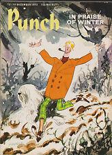 Punch Magazine Vintage Old 13 December 1972 Birthday Gift Ffolkes Ford Granada