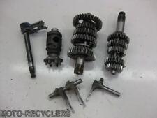 07 KX85 Transmission gears shaft compl     24