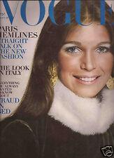 Vogue September 1970 - Paris Collections - Lou Lou de la Falaise -Villa Vescovi