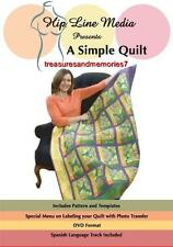 A Simple Quilt Dvd Quilting Hip Line Media